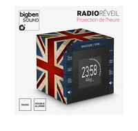 bigben radio-réveil RR70 avec projection Great Britain-Détail de l'article