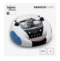 bigben draagbare radio/cd-speler CD52 Katten 2