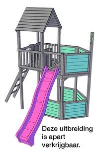 BnB Wood toren met schommeluitbreiding Nieuwpoort-Afbeelding 3