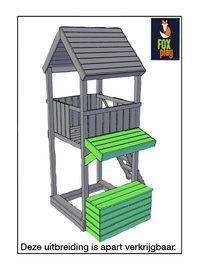 Fox play houten speeltoren Baltimore-Afbeelding 2