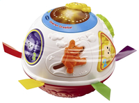 VTech dierendraaibal wit/rood