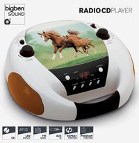 bigben draagbare radio/cd-speler CD52 Paarden 2-Artikeldetail
