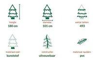 Kerstboom 180 cm-Artikeldetail