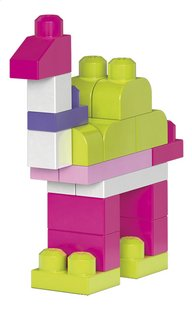 Mega Bloks Big Building Bag roze - 80 stuks-Artikeldetail