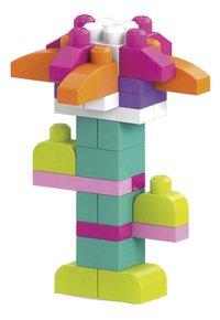 Mega Bloks Big Building Bag roze - 80 stuks-Vooraanzicht