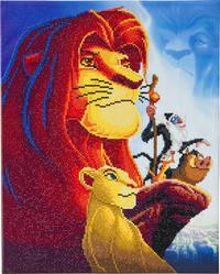 Craft Buddy Crystal Art Kit Disney - The Lion King Medley-commercieel beeld
