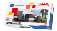 Märklin Start up Coffret de wagons 'Chargement de conteneurs'