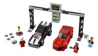 LEGO Speed Champions 75874 Chevrolet Camaro dragracer-Vooraanzicht