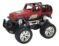 New Bright jeep RC Jeep Wrangler rood