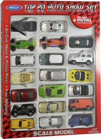 20 diecast auto's
