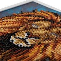 Craft Buddy Crystal Art kit Lion-Artikeldetail