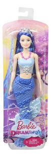 Barbie mannequinpop Dreamtopia Zeemeermin met blauwe staart-Vooraanzicht