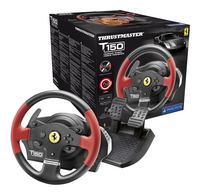Thrustmaster stuurwiel met pedalen PS4 T150 Ferrari Wheel force feedback