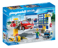 PLAYMOBIL City Life 70202 Autogarage-Linkerzijde