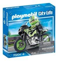 PLAYMOBIL City Life 70204 Motorrijder-Linkerzijde