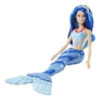 Barbie mannequinpop Dreamtopia Zeemeermin met blauwe staart-Artikeldetail
