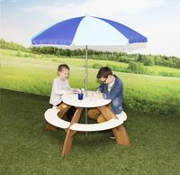 AXI table de pique-nique pour enfants Orion avec parasol-Image 1