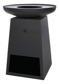 RedFire vuurschaal BBGrill Orion Classic Black-Rechterzijde