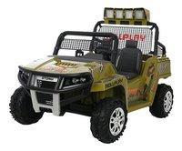 Elektrische jeep 4x4 Dino-commercieel beeld
