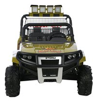 Elektrische jeep 4x4 Dino-Vooraanzicht
