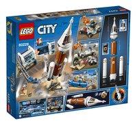LEGO City 60228 Ruimteraket en vluchtleiding-Achteraanzicht