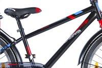 Citybike Blade 24/ noir avec porte-bagages-Détail de l'article
