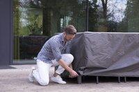 Outdoor Covers Premium beschermhoes voor tuinset L 245 x B 150 x H 95 cm polypropyleen-Afbeelding 3