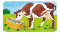 Ravensburger puzzle 2 en 1 My First À la ferme-Détail de l'article