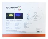 Haut-parleur Bluetooth avec radio-réveil-Arrière