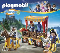 Playmobil Super 4 6695 Koningstribune met Alex