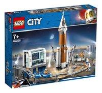 LEGO City 60228 Ruimteraket en vluchtleiding-Linkerzijde