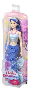 Barbie mannequinpop Dreamtopia Zeemeermin met blauwe staart-Rechterzijde