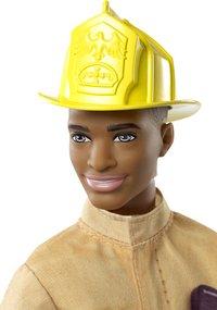 Barbie mannequinpop Careers Ken Brandweer-Bovenaanzicht