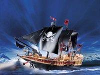 Playmobil Pirates 6678 Bateau Pirates des ténèbres-Image 1