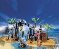 Playmobil Pirates 6679 Repaire Pirates des ténèbres-Image 1