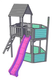 BnB Wood uitbreiding Piraat voor Nieuwpoort-product 3d drawing