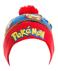 Muts Pokémon met logo en Pikachu