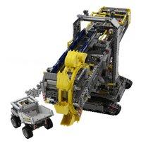 LEGO Technic 42055 La pelleteuse à godets-Avant