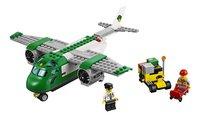 LEGO City 60101 Vliegveld vrachtvliegtuig-Vooraanzicht