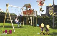 BnB Wood schommel met speeltoren Fireman-Afbeelding 3