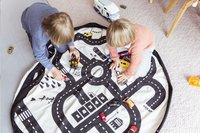 Play&Go Opbergmand/speeldeken Roadmap/Thunderbolt-Afbeelding 2