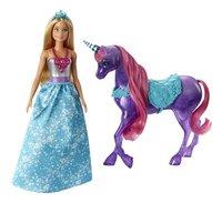 Barbie speelset Prinses met unicorn-commercieel beeld