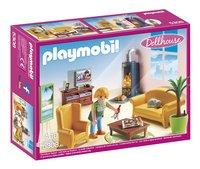 Playmobil Dollhouse 5308 Woonkamer met houtkachel