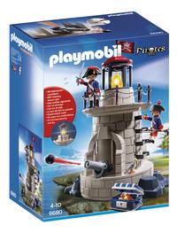 Playmobil Pirates 6680 Soldaten met vuurtoren-Vooraanzicht