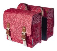 Basil double sac pour vélo Bohème Vintage Red
