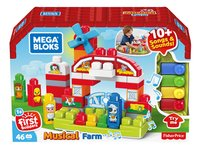 Mega Bloks First Builders Musical Farm-Linkerzijde