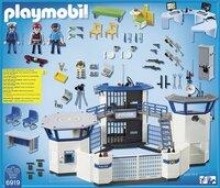 Playmobil City Action 6919 Politiebureau met gevangenis-Achteraanzicht