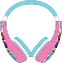 Casque audio Disney La Reine de Neiges rose