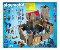 PLAYMOBIL Knights 6000 Koningskasteel van de orde van de Leeuwenridders-Vooraanzicht