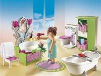 Playmobil Dollhouse 5307 Salle de bains et baignoire-Image 1